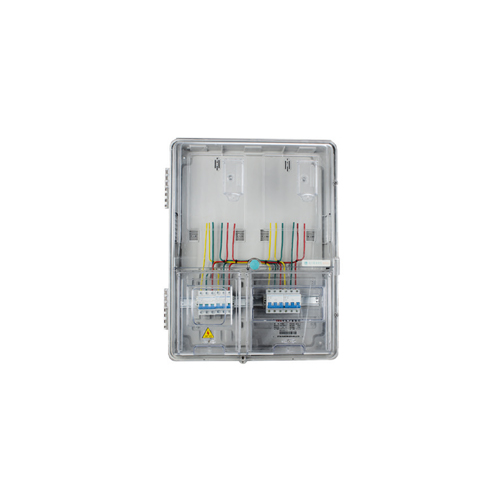 YFS-D-K201 F Transparent Straight into The Electronic Card Three-Phase Two-element Measurement Box